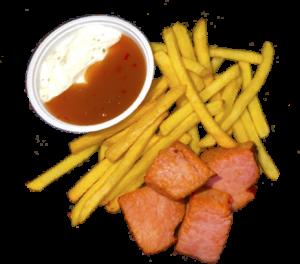 Картошка Фри с БЕКОНОМ